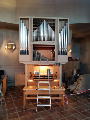 Grönlund-Orgel Mjölkuddskyrkan