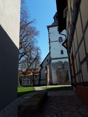 Kirchhof in Dassel