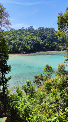 Gaya Island, Tunku Abdul Rahman Nationalpark, Sabah, Borneo, Malaysia