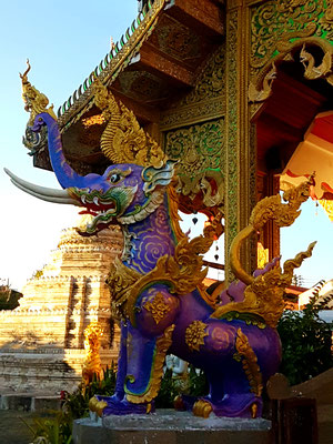 Statue in Chiang Mai