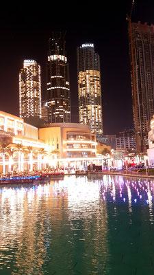Wasserspiele Burj Khalifa