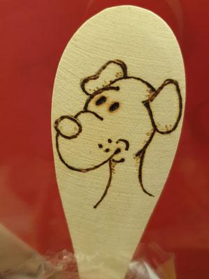 Hunde Nudeln Hunde Pasta mit individuellem Löffel