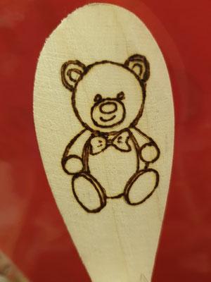 Teddy Pasta Bären Nudeln mit Löffel