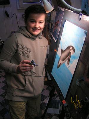 Airbrush Jugendkurse ab 12 Jahren