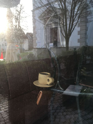 """Original """"im Einsatz"""" bei Café Finkhäuser"""
