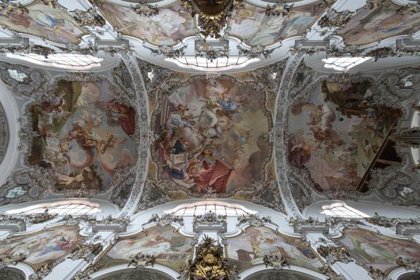Deckengemälde Klosterkirche Steingaden