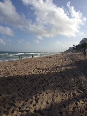 der Strand in Fort Lauderdale