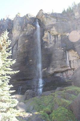 Die Bridal Veil Falls.