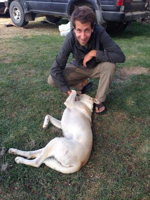 Chiquiti war einer von 5 Hunden auf der Finca.
