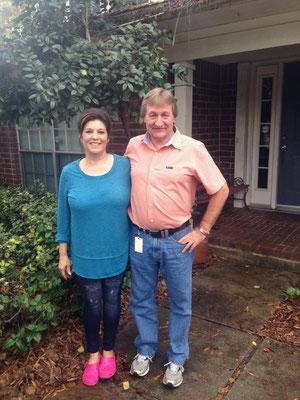 Kim und Andy - unsere tollen Gastgeber in Houston!