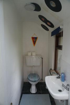 Toilet sunroom