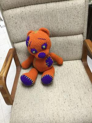 Franken Bear (Holloween teddy bear)