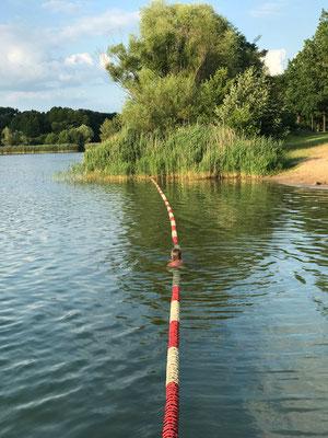 Nichtschwimmerbereich Baggersee Gusow