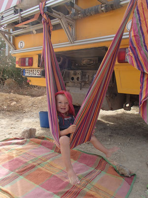 Sarah beim relaxen