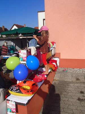 Hofflohmarkt Sarah`s Stand
