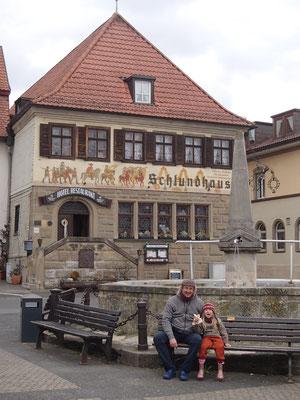 fränkische Bratwurst im Weckle, Bad Königshofen
