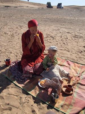 Frühstück Etoile le dune