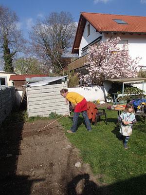 Gartenarbeit Frühling 2019
