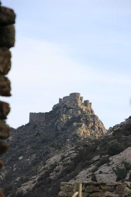 Zitadelle oberhalb San Pere de Rodes Spanien