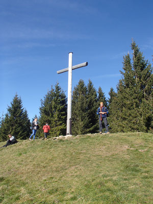 Gipfelkreuz Hörnle