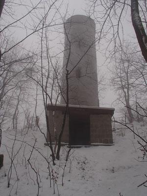 Ithturm im Nebel