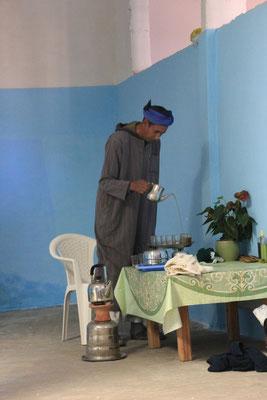 Vorbereitung des Tee, Imouzlag