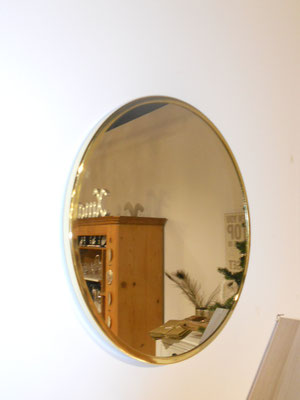 Spiegel m. Goldrand von Bloomingville D38cm 95€
