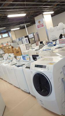 リサイクルショップとは思えない高品質洗濯機