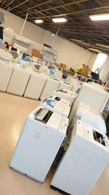 除菌清掃済みの中古洗濯機
