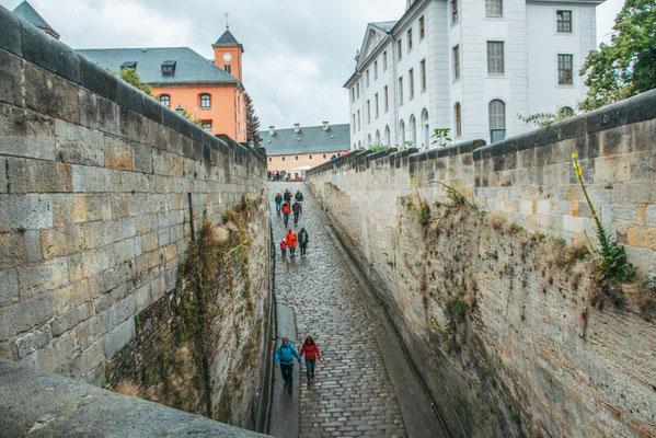 Festung Königstein in der Sächsischen Schweiz