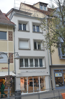 Bachstraße 36, Südseite Richtung Bachstraße - Bild Dr. Dietmar Hawran