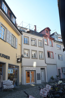 Bachstraße 36, Rückseite Richtung Goldgasse - Bild: Dr. Dietmar Hawran