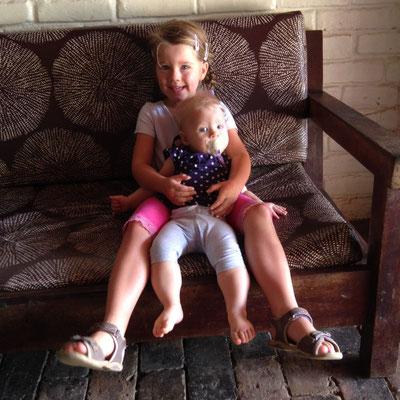 Unsere beiden tollen Töchter... :-)
