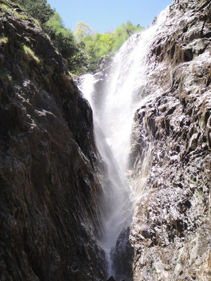 Sostoschlucht Wasserfall