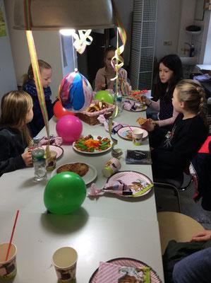 Tiefdruckkurs mit Geburtstagsfeier.....