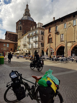 Angekommen in Pavia