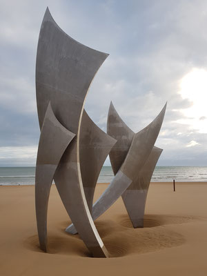 Les Braves am Omaha Beach