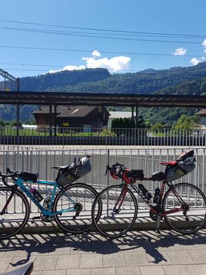 Etappe 1: Uster - Chur - Zwischenstopp in Walenstadt