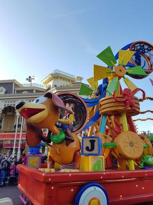Parade im Euro Disneyland