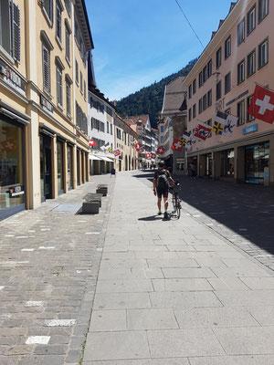 Etappe 1: Uster - Chur - Angekommen in Chur
