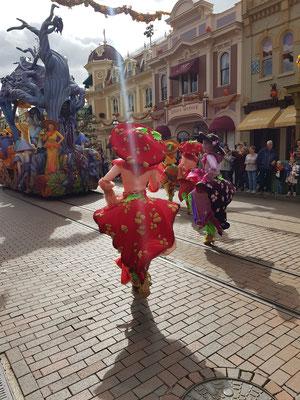 Halloween Parade im Euro Disneyland