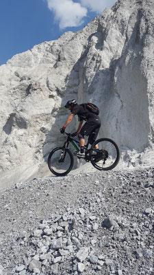 Tolle Felsen unterwegs