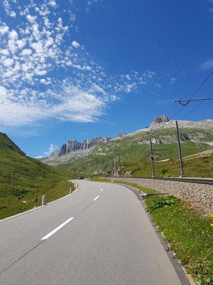 Etappe 2: Chur - Andermatt - Oberalppass