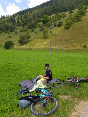 Etappe 3: Andermatt -Sierre - Mittagspause