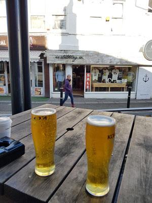 Typisch England... Beer ;)