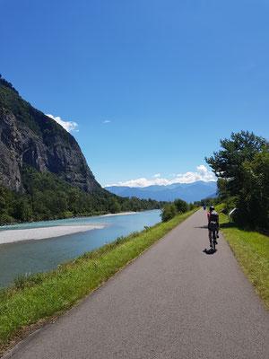 Etappe 1: Uster - Chur - Der Rhein