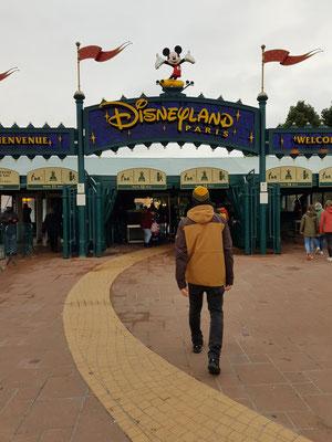 Besuch in Euro Disneyland