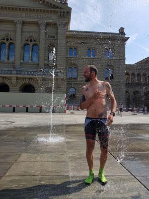 Etappe 5: Vevey - ....und erst mal duschen