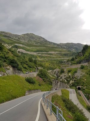 Etappe 3: Andermatt -Sierre via Furkapass