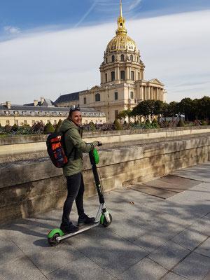 Schnell unterwegs in Paris